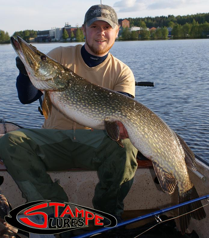 My biggest pike on Stampe Manson Jerkbait