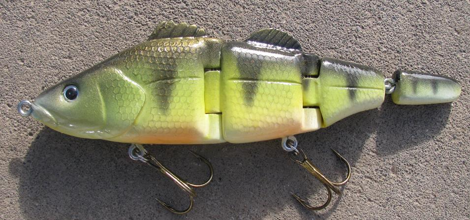 New Perch Swimbait