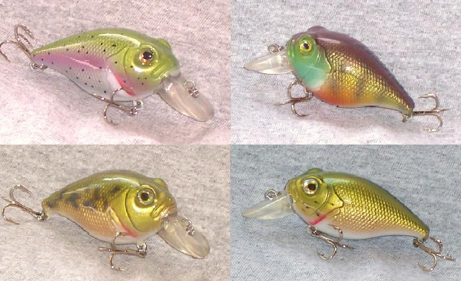A Few recent Crankbaits