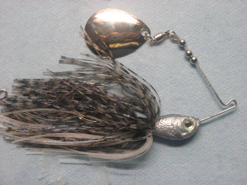 Stubby Spinnerbait at a buddys request