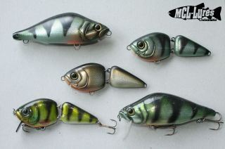 Some unfinished lures