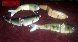 "7"" swimbaits.. Rattlecan paint"