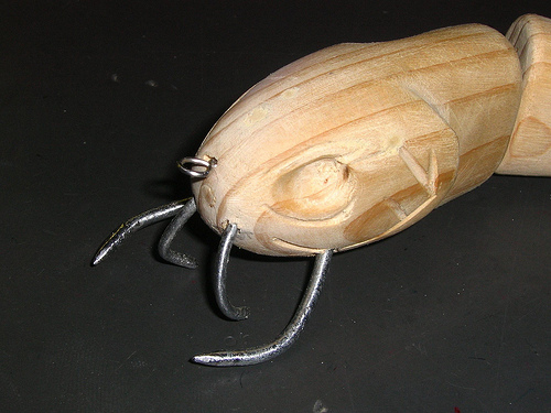 """Tusker"" swimbait prototype"