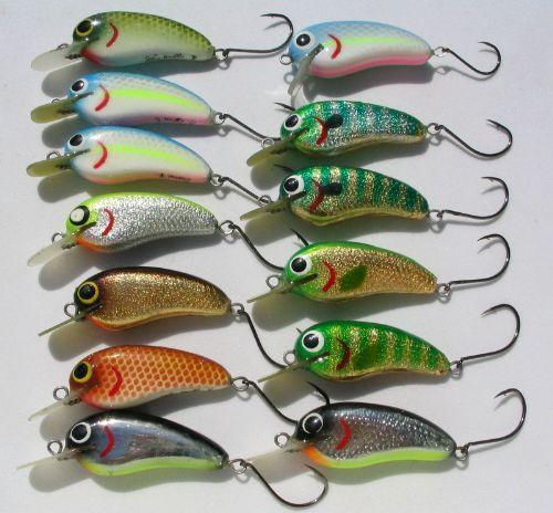 many mini baits
