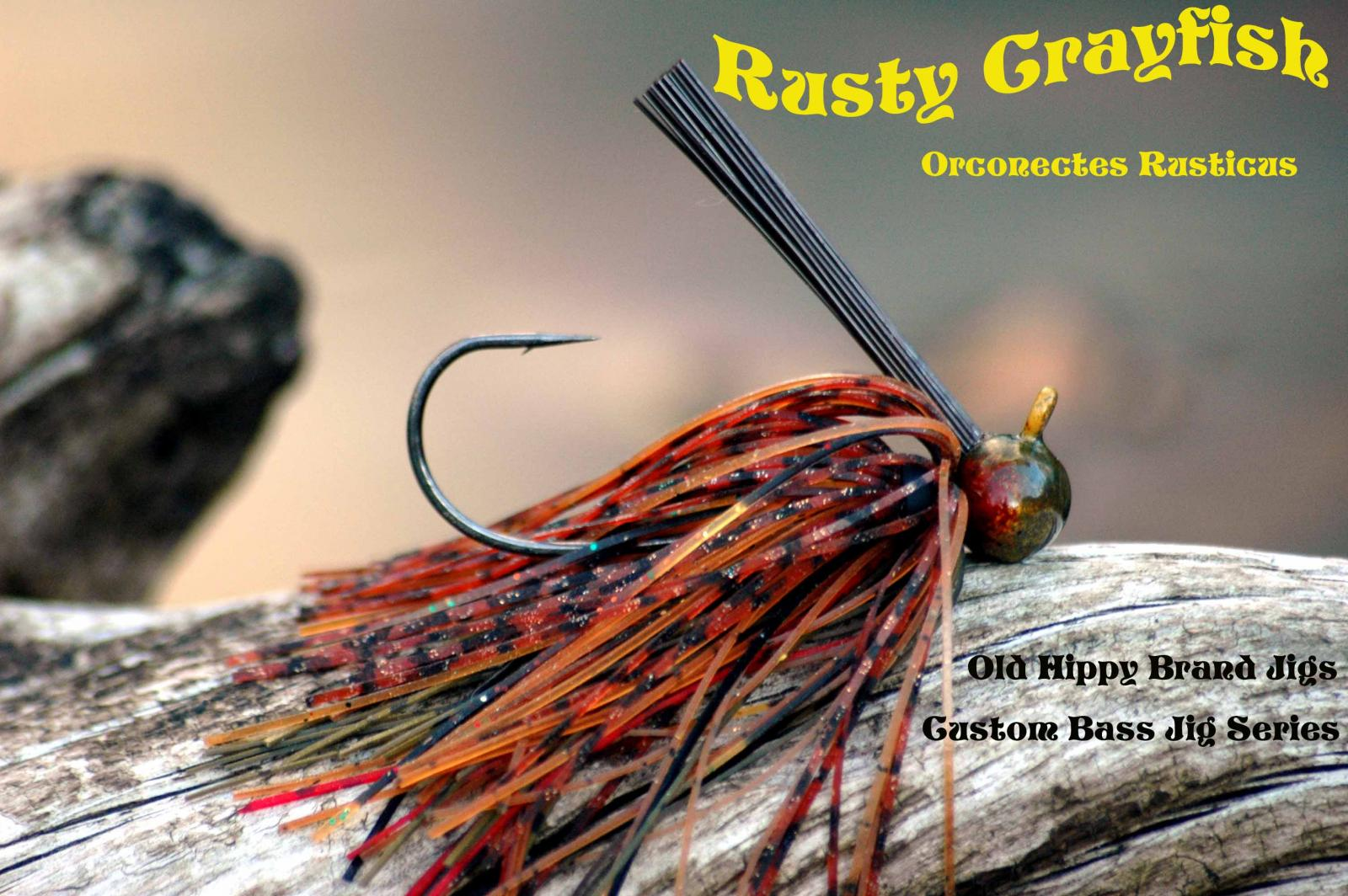 Old Hippy Brand Jig - Rusty Crayfish