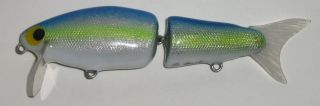 Foiled chartreuse shad
