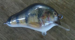 Photo-finished crankbait