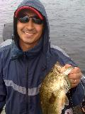 "VIC CAPOBIANCO "" 2009 ""  OBF ANGLER OF THE YEAR ONTARIO,CANADA"