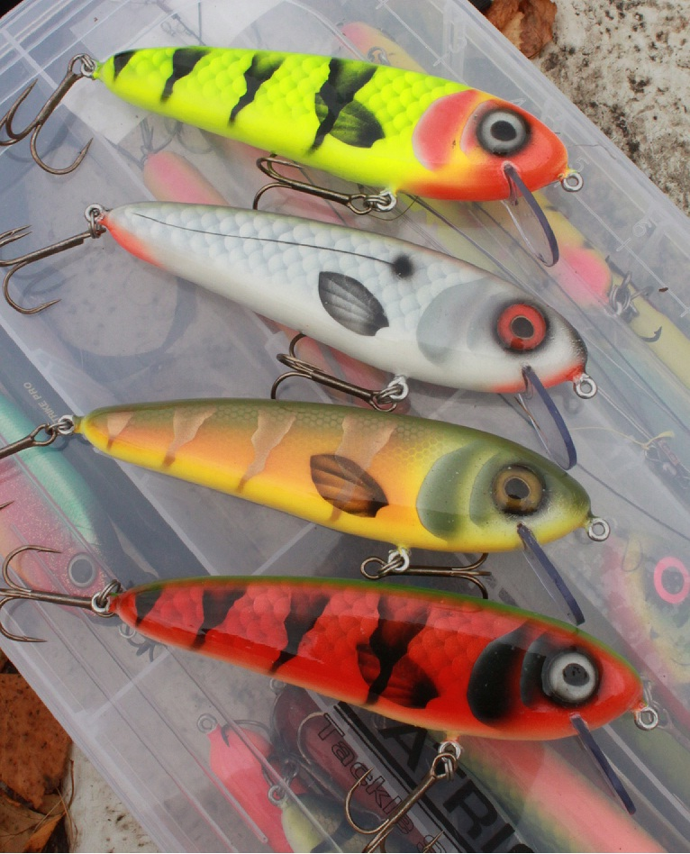 a new crank bait pattern