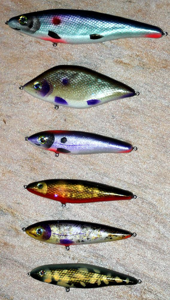 last batch of jerk baits