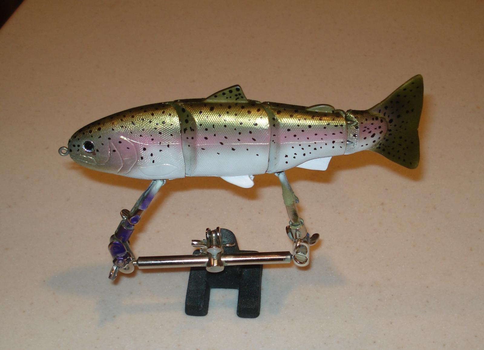 9 inch trout wake bait