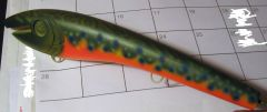 first time painting a brook trout!