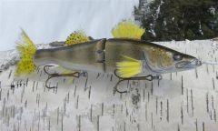 2008 Walleye Swimbait from Musky Snax