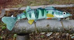 Perch Swimbait clear coated now