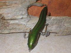 Hand carved eel