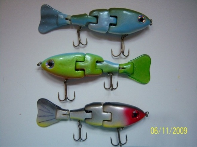 Latest swimbaits