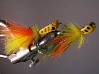 bass wood fly rod lure