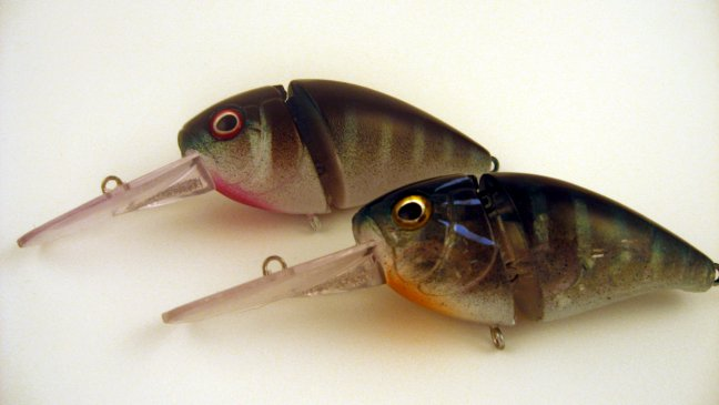 Bluegill and craw cranks