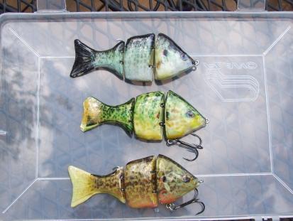 Sunfish swimbaits