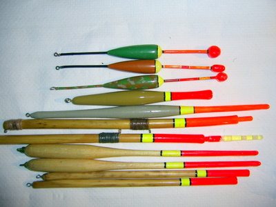 Homemade European style fishing essentials