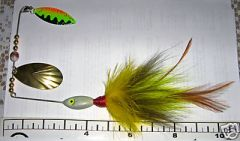 My first Bucktail Spinnerbaits