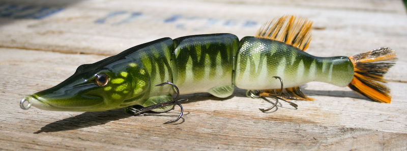 New swimbait; ESOX