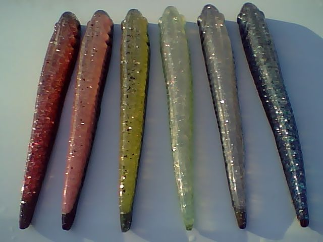 "8"" Tri color Slugs"