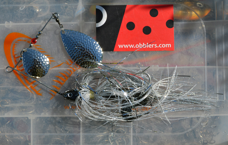 Silver Brother spinnerbait.
