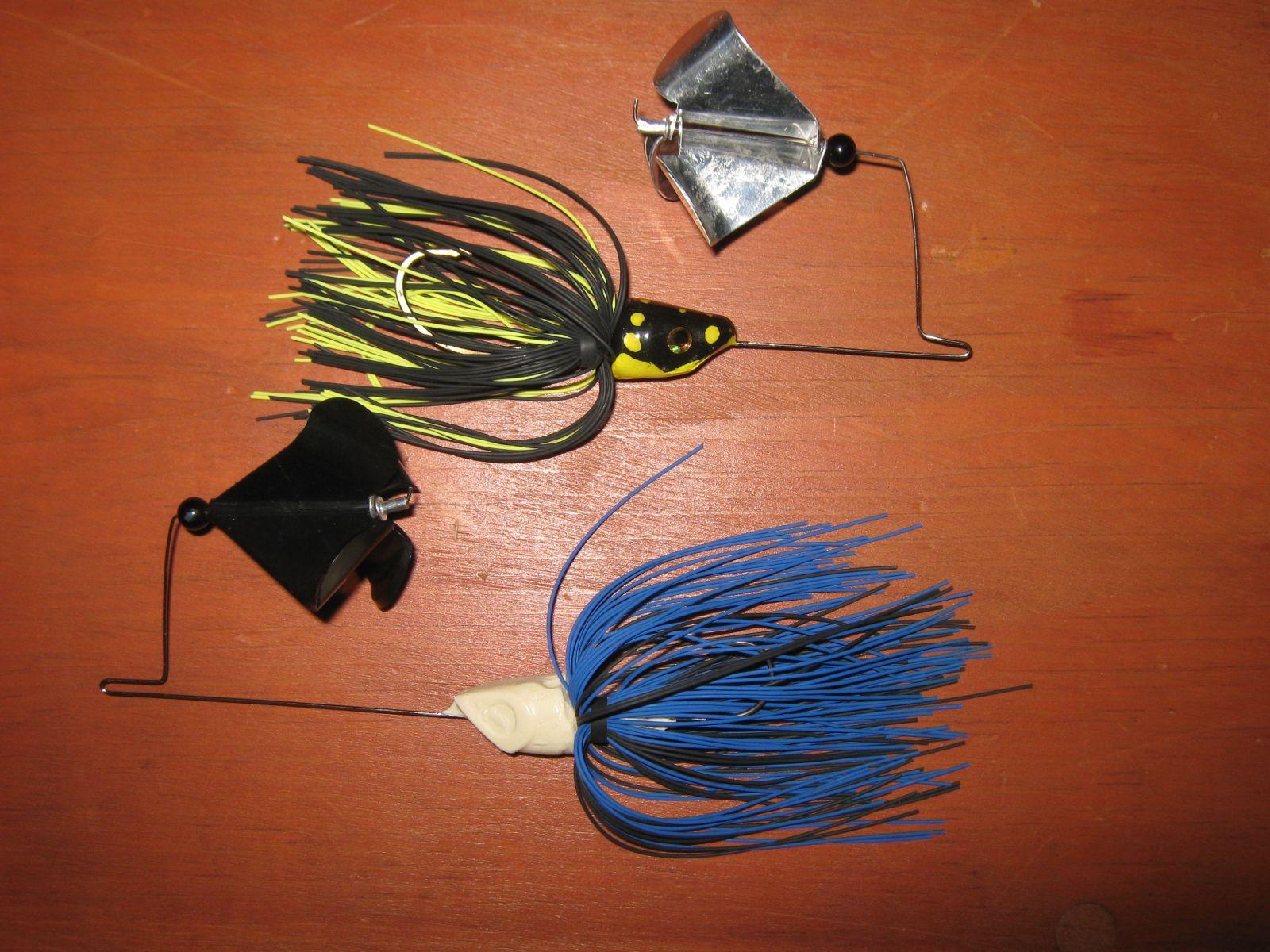 Buzzbait prototypes