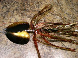 First In-Line Double Bladed Bucktail Spinner