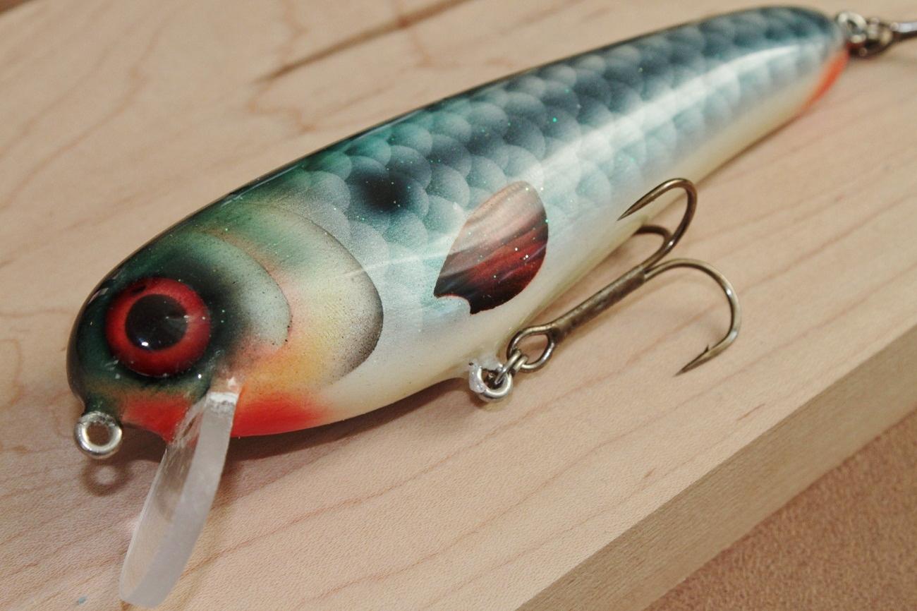 "new crank bait proto aka ""mr. Roach"