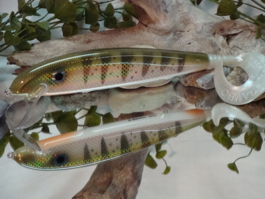 Silver Perch muskie bait