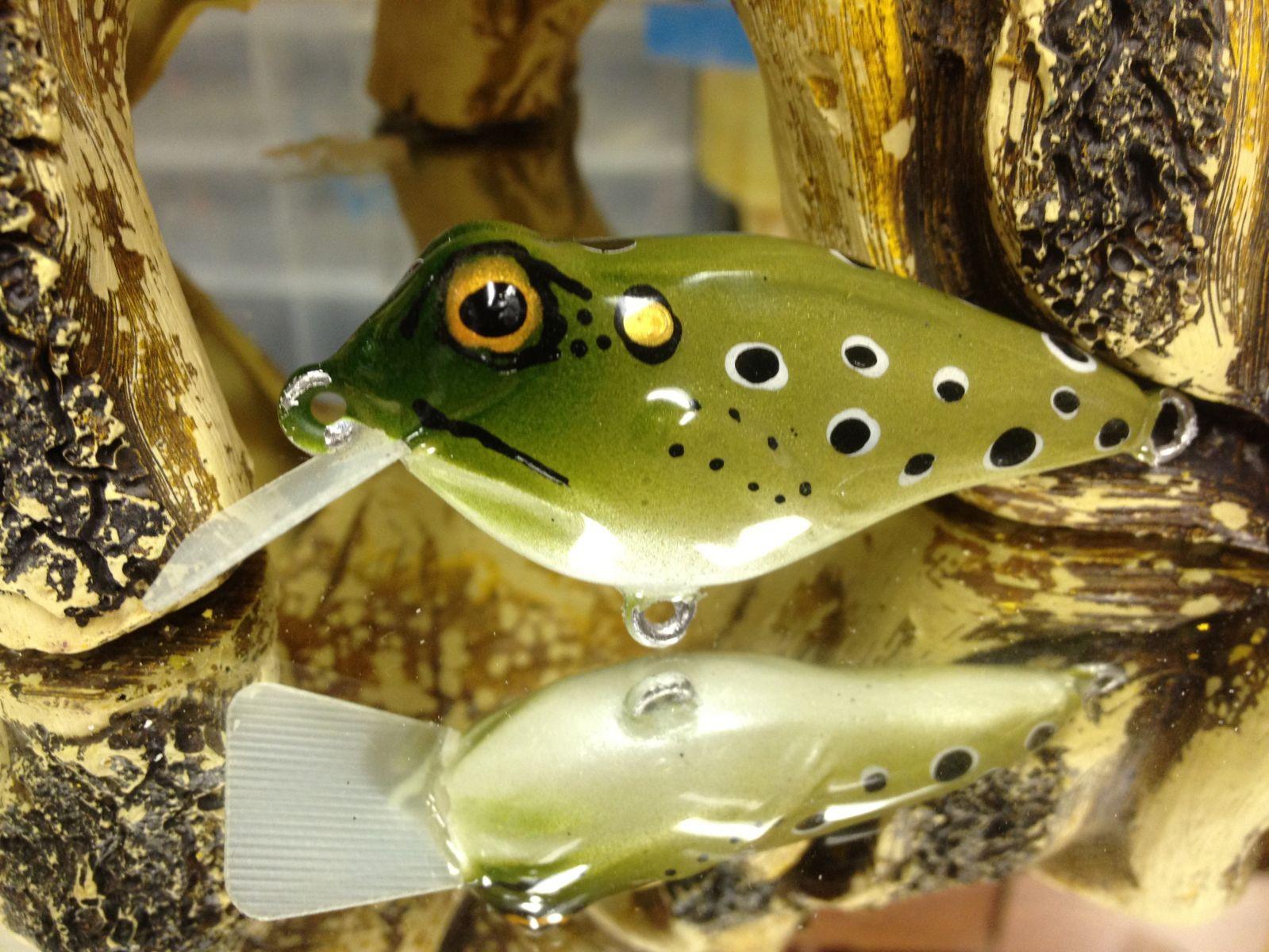 Rebel Frog-r Crankbait 3