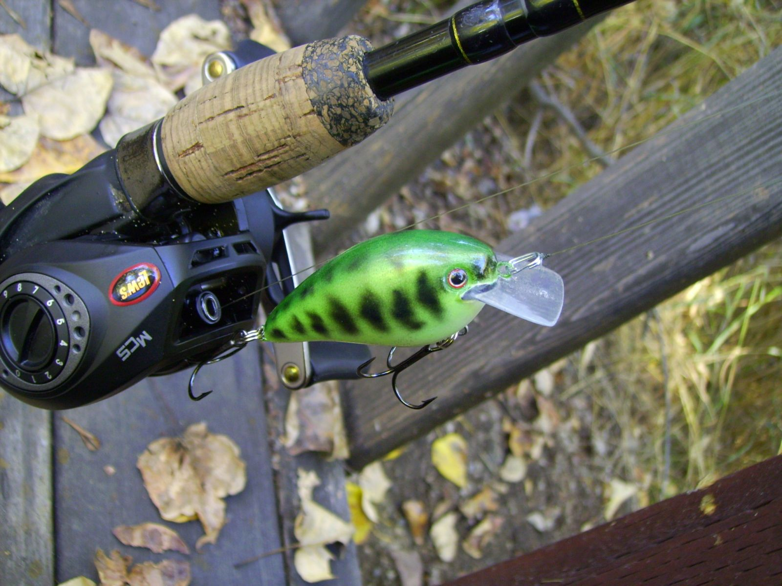 KVD 1.5 - Chartreuse Baby Bass
