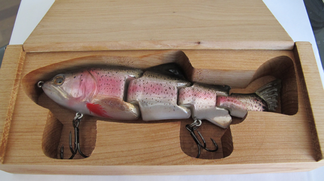 Natural Rainbow Injured Trout