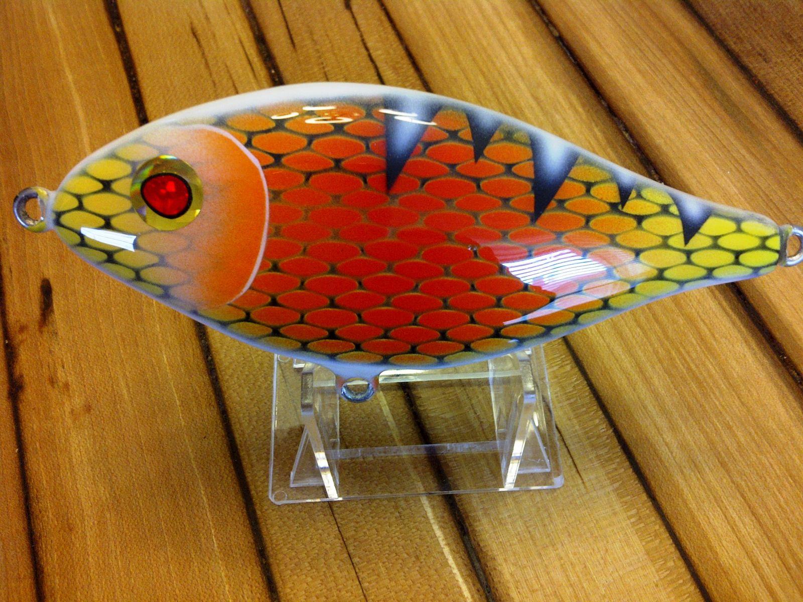 Red orange 5 inch glide 016