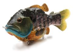 The Meanie- male bluegill swimbait