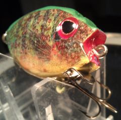 Pumpkinseed Sunfish Foil Hand carved