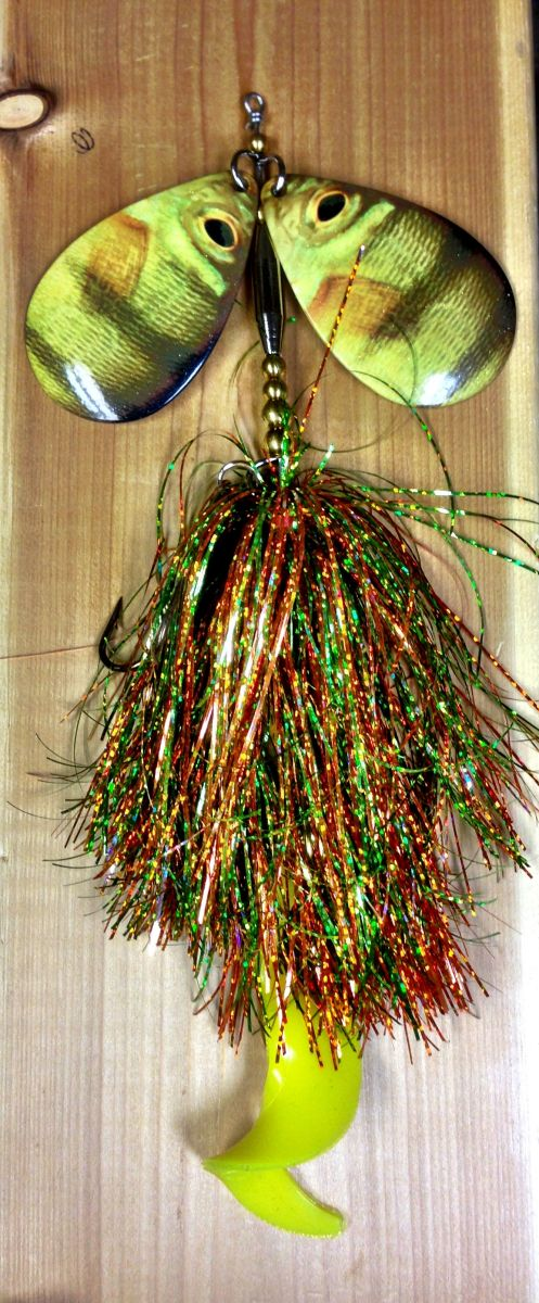 Perch Musky bucktail