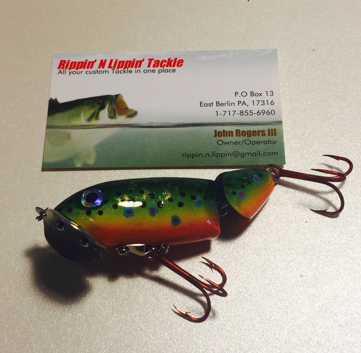 Brook Trout Jitter-Bug