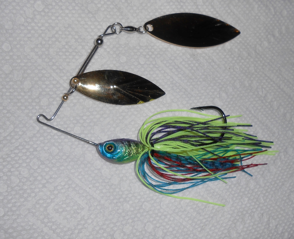 1/2oz Electric Gill Spinnerbait