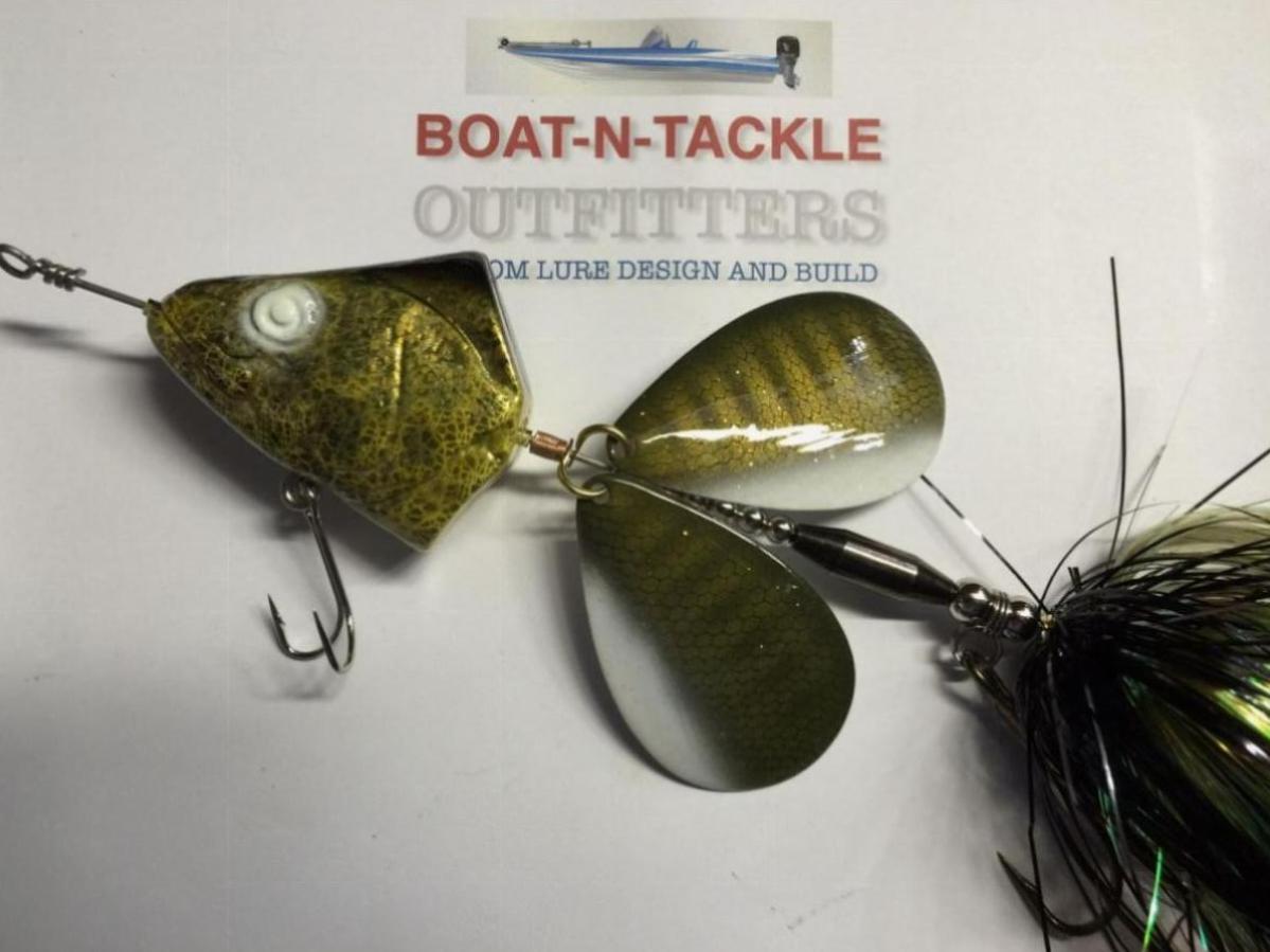 Boat-N-Tackle Outfitters/LureMeIn Custom Walleye #10 Bucktail