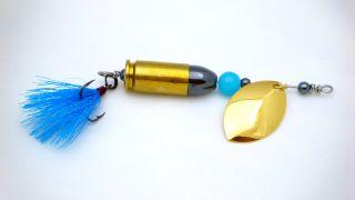 Blue Bullet Lure
