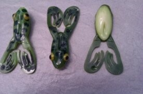 "4.5"" BIGFOOT FROG IN GREEN BULL FROG"