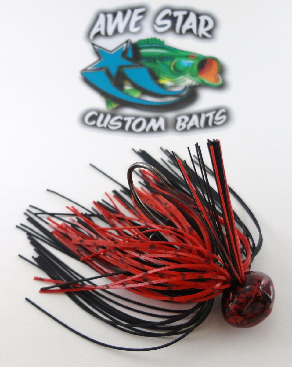 Awe Star Custom Baits Trokar Football Head Jig