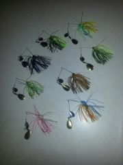 1/8 oz. crappie spinners