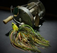 Bluegill pattern spinnerbait