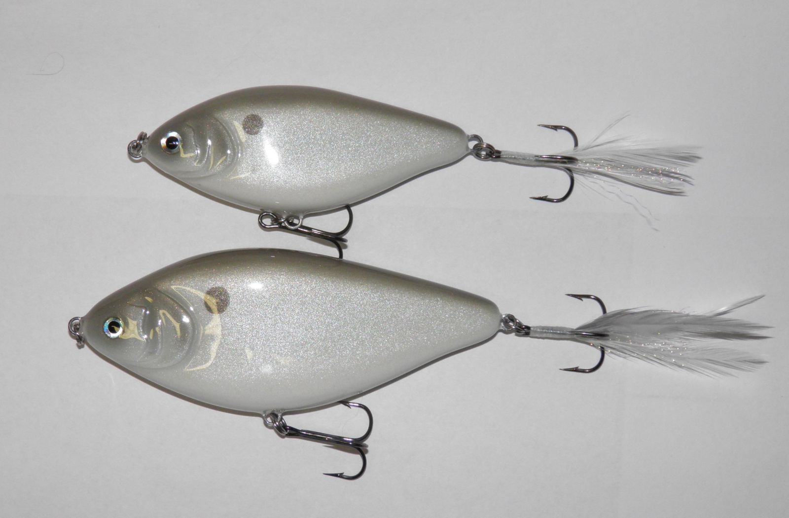 Gizzard Shad one piece glides