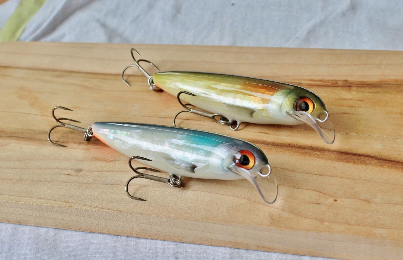 couple of saddle lip baits from MOP