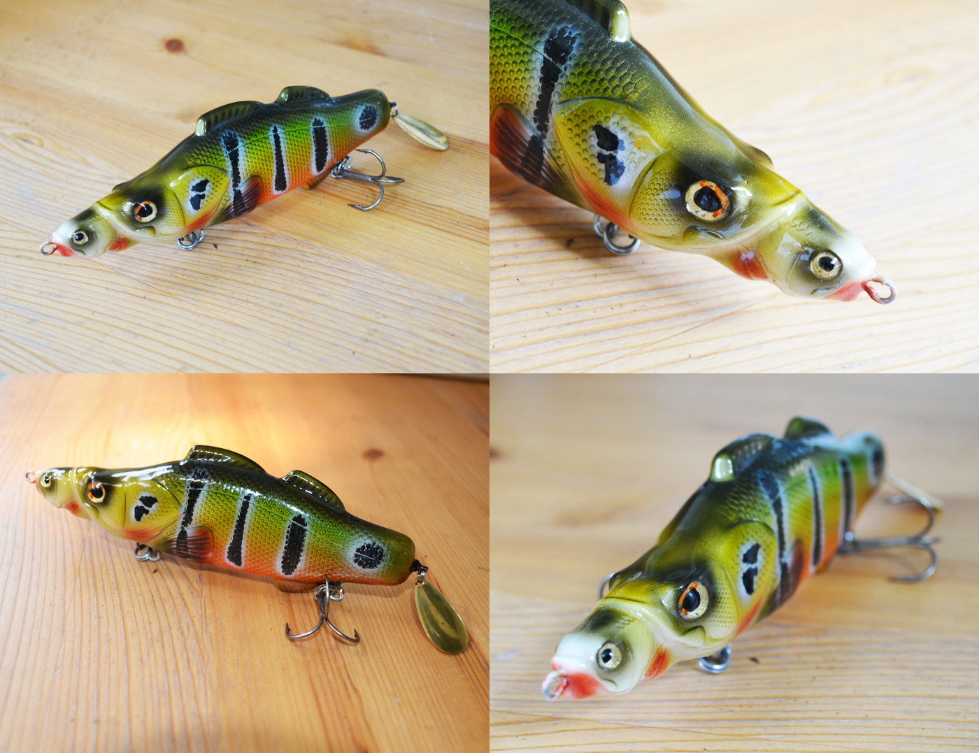 killer peacock bass - blade bait